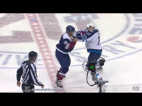 Jarome Iginla vs. Adam Lowry