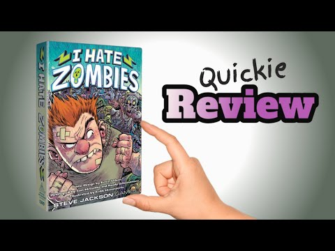 I Hate Zombies - Lucky Roll Reviews