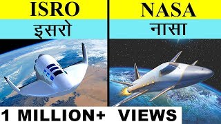 ISRO VS NASA In Hindi Full Space Agency Comparison UNBIASED 2019 | इसरो बनाम नासा | India's Top Fact