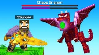 I FOUND The FINAL Thanos *POWER STONE* in Minecraft (Insane Craft)