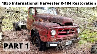 1955 International Harvester Truck Restoration - Episode 1: Introduction