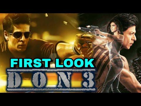 Don 3 First Look Shahrukh Khan Shahrukh Khan Upcoming Movie In 2019
