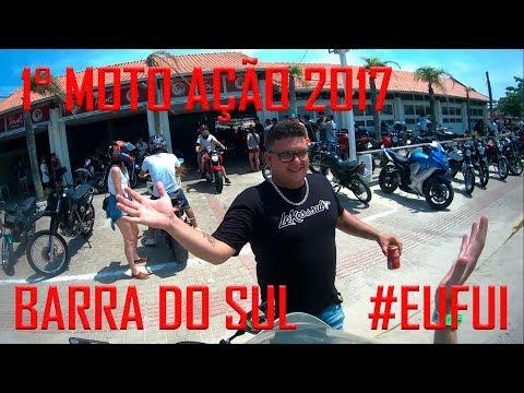 1° MOTO AÇÃO 2017 EM BALNEÁRIO BARRA DO SUL