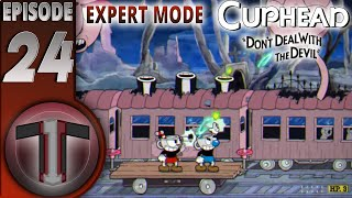 CupHead Expert Mode (24) | 2 Bosses left