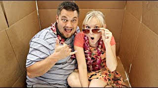 Mailed Our PARENTS to HAWAII! (Skit)