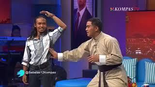 Pandji Pragiwaksano memukul Yayan Ruhian