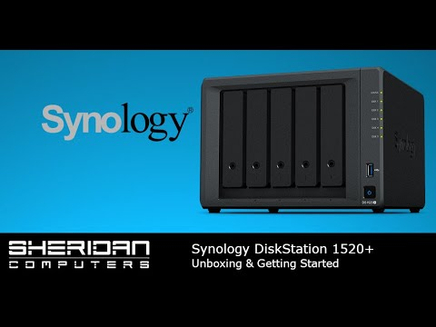 Synology DS1520+ Unboxing and Overview