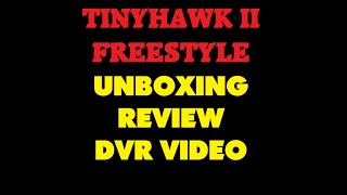 EMAX TinyHawk II Freestyle | Review And Unboxing | FPV DVR Footage