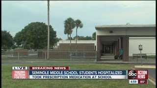 Deputy: Students ill after taking pills