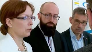 В новгородском пенсионном фонде побывали коллеги из Германии