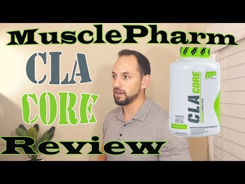 MusclePharm CLA Core Fat Burner Supplement Review (Fast & Simple)