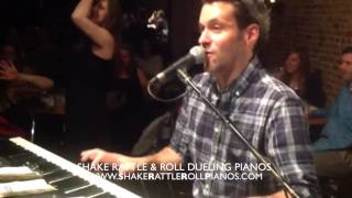 5/3/15 - Shake Rattle & Roll Dueling Pianos  - Video of the Week!