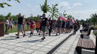 Wideo: Antyszczepionkowy protest w Głogowie