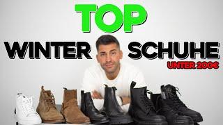 TOP WINTER SCHUHE | Dr. Martens, Nubikk, Arket | Unter 200€ | Kosta Williams