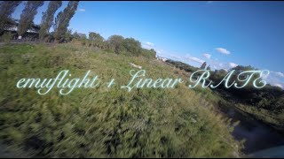Emuflight + Linear RATE (#FPVFREESTYLE)