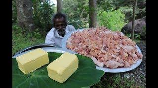 15 KG Butter CHICKEN Recipe prepared by my Daddy ARUMUGAM / Village food factory