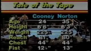 Gerry Cooney Vs  Ken Norton 1981