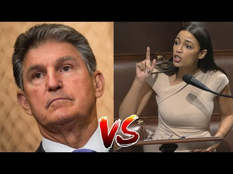 """AOC GOES OFF On Joe Manchin After He Attacks Her By Saying """"She Just Tweets"""""""
