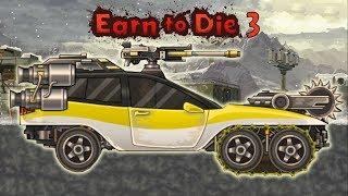 Мультики машины страшилки про зомби Earn To Die 3 выполняем миссию 5000 футов игры про выживание