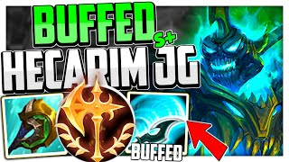 This is What Hecarim can do AFTER THE BUFFS👌   Hecarim Jungle Guide Season 11 - League of Legends