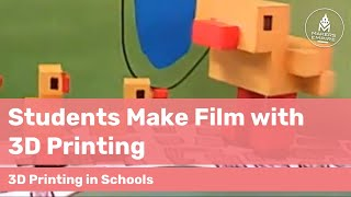 Forbes Primary School students use 3D printing to create a fantastic short film