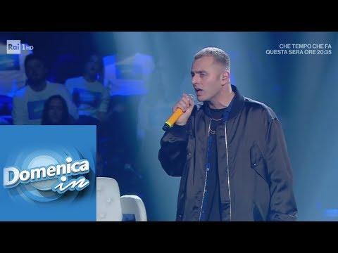 """Ghemon canta """"Rose viola"""" - Domenica In 10/02/2019"""