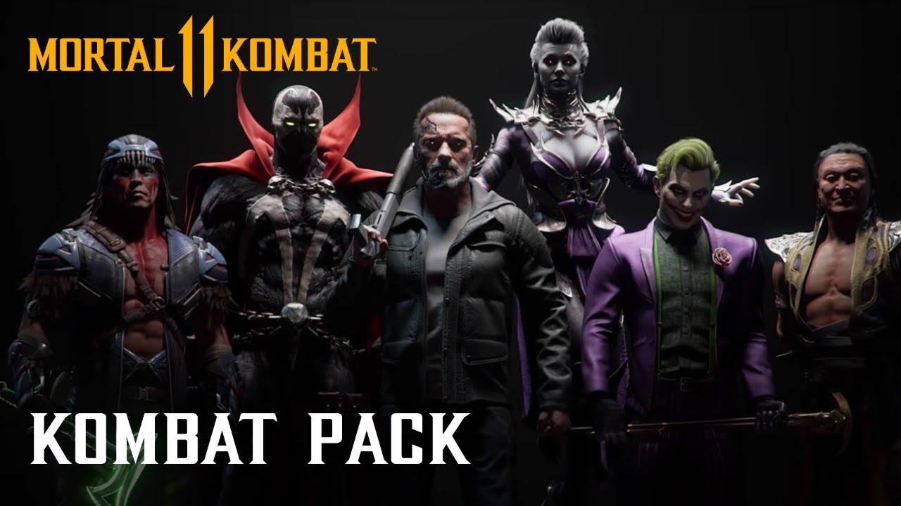 In arrivo nuovi personaggi per Mortal Kombat 11 tra cui Terminator e Joker