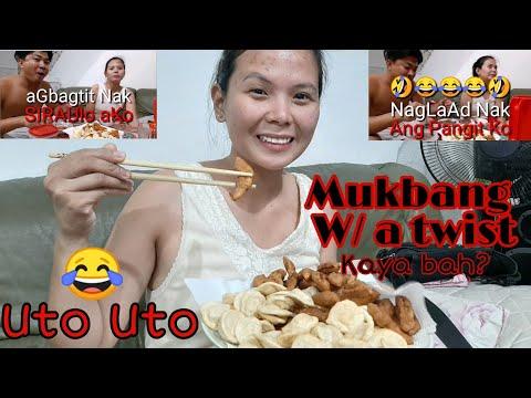 MUKBANG| W/ A TWIST (CHAPSTICK) +ILOCANO LESSON kay LUVZ part1 #ilocanoLesson #mukbang