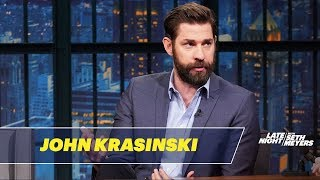 John Krasinski Couldn't Believe Stephen King's Reaction to A Quiet Place - Video Youtube