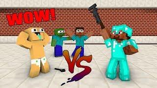 Monster School : NOOB VS PRO BUILD ROBOT CHALLENGE - Minecraft Animation