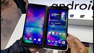 LG G8X ThinQ Dual Screen Smartphone - First Look Hands-on / OLED / SD855 /  6+128GB