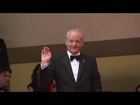 "Tilda Swinton and Bill Murray share their ""pride"" at killing zombies in Jim Jarmusch's new ""The Dead Don't Die,"" which opened this year's Cannes Film Festival. (May 16)"