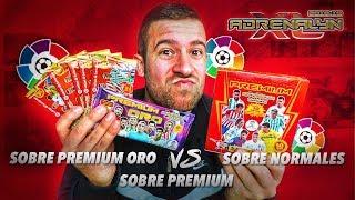SOBRES PREMIUM VS SOBRE PREMIUM ORO | ADRENALYN XL 2018-19 LIGA SANTANDER | 2 BALON DE ORO!!