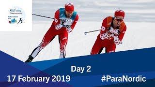 Day 2   2019 World Para Nordic Skiing Championships   Prince George