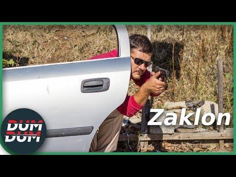 Dveře auta – ochrana před střelbou?