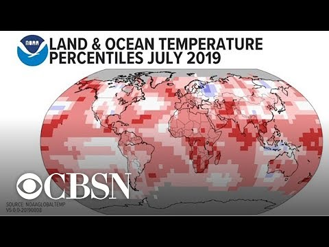 July was Earth's hottest month on record