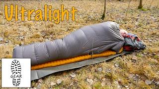 Ultralight-Gear: Daunen-Quilt