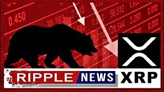 RIPPLE NEWS: Why is XRP price going down? What is the next?