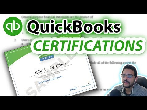 HOW TO PASS A QUICKBOOKS TEST? And get certified in ...