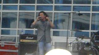 Christian Kane performing The House Rules at the 2011 CMA Music Festival