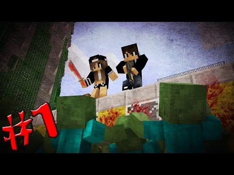 КАК ВЫЖИТЬ С ДЕВУШКОЙ В ЗОМБИ-АПОКАЛИПСИСЕ #1 [Minecraft] - Крушение