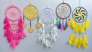 DIY Super Easy Way To Make A Dreamcatcher | Step By Step Slow Video Tutorial