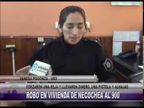 E726 NOTA VANESA POGONZA   URX   ROBO EN VIVIENDA DE NECOCHEA AL 900
