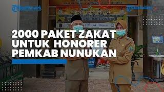 2000 Paket Bantuan Zakat Untuk Honorer Pemkab Nunukan, Bupati Asmin Laura Harap Semua Diakomodir