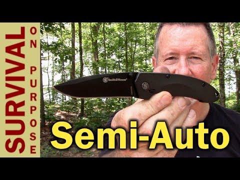 EDC Knife Review – S&W MAGIC Assist SW6000B Folding Knife