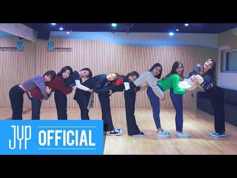 """TWICE """"Heart Shaker"""" Dance Video (Practice Room Ver.)"""