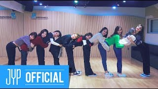 "TWICE ""Heart Shaker"" Dance Video (Practice Room Ver.)"