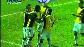 All Goal Arema Vs Central Coast Mariners CCM 21 Final Menpora Cup 29 Sepetmebr 2013 FULL