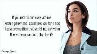 Dua Lipa - LEVITATING feat Madonna and Missy Elliott |Official Music Video Lyrics|
