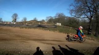 preview picture of video 'Motocross à Maulévrier le 08/03/2015'